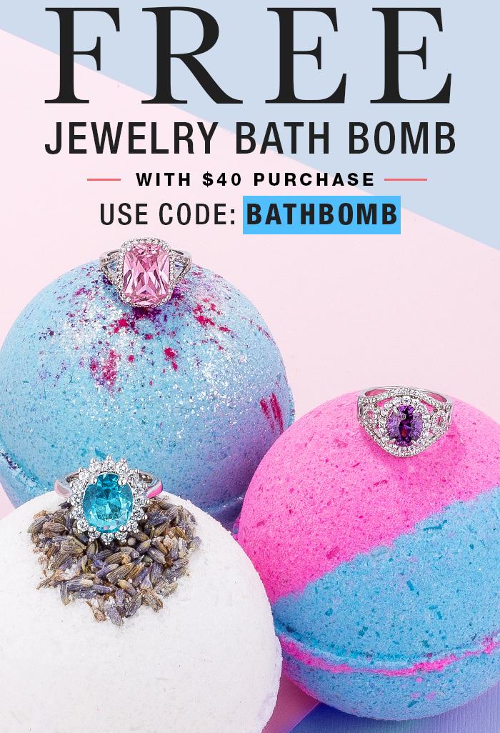 FREE Jewelry Bath Bomb W. Purchase