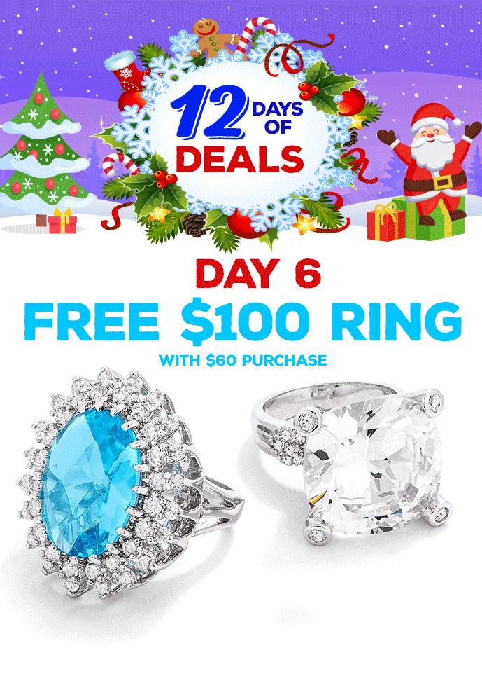 Free $100 Ring