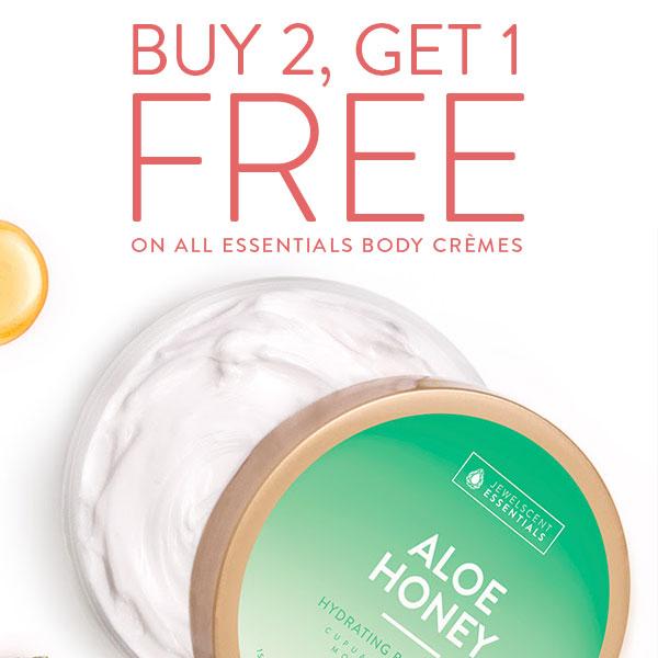 Buy 2 Get 1 Essentials Body Creme