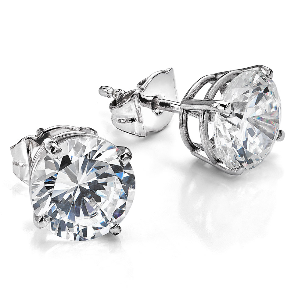 1CT DIAMOND EARRINGS