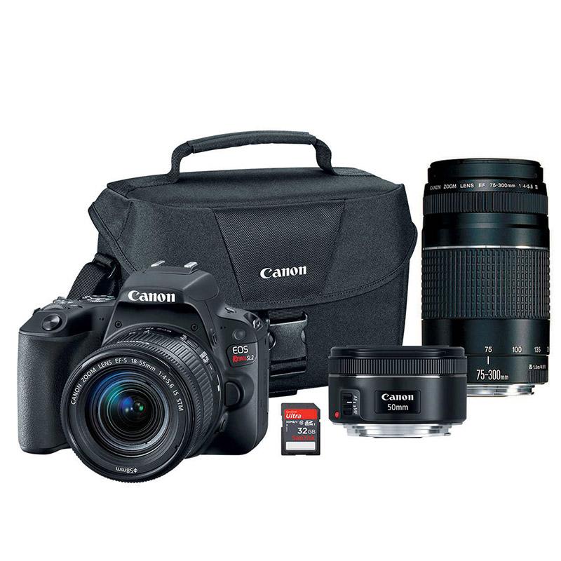 Canon SL2 Bundle